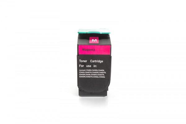 Kompatibel zu Lexmark 0C540H1MG Toner Magenta