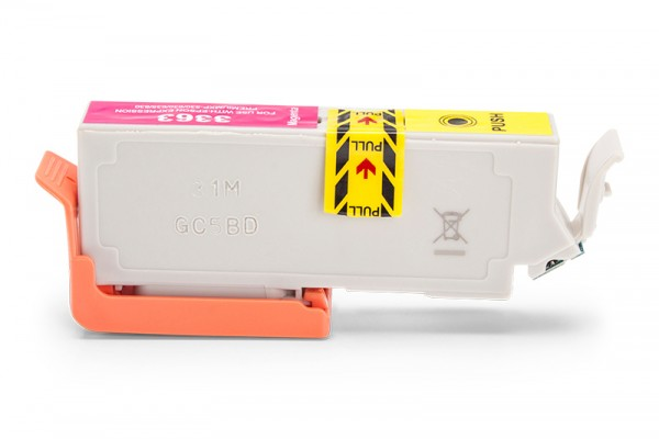 Kompatibel zu Epson 33 XL / C13T33634010 Tinte Magenta