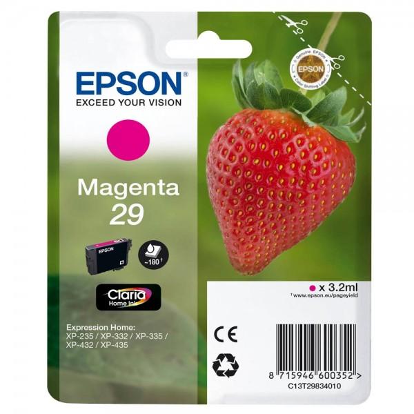 Epson 29 / C13T29834012 Tinte Magenta