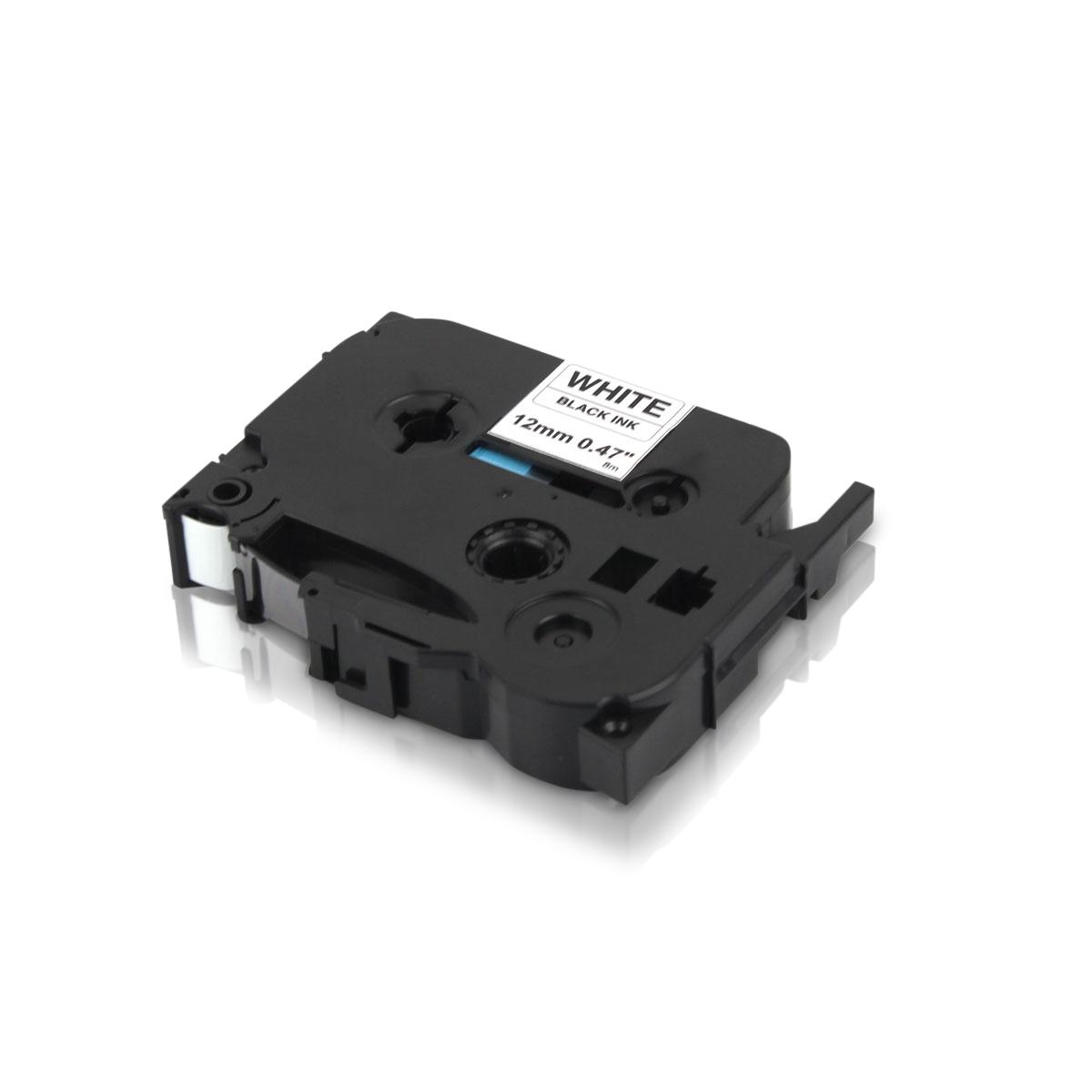3x Kompatibel zu Brother TZE-231 P-Touch Schriftband 12mm Schwarz auf Weiss