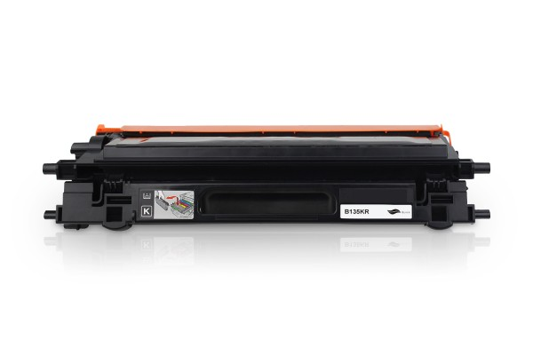 Rebuilt zu Brother TN-135BK Toner Black