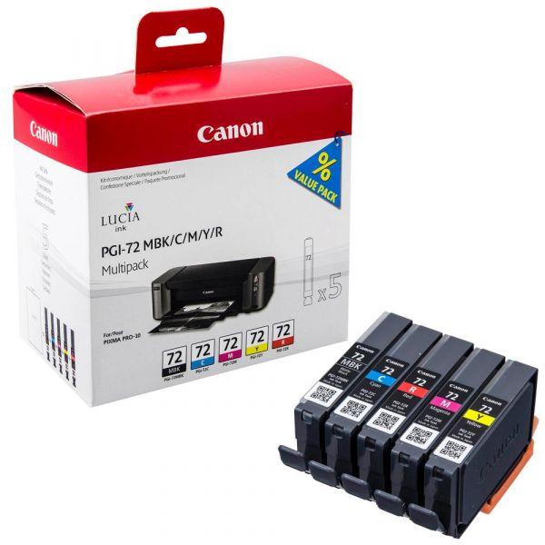 Canon PGI-72 / 6402B009 Tinten Multipack (5er Set)