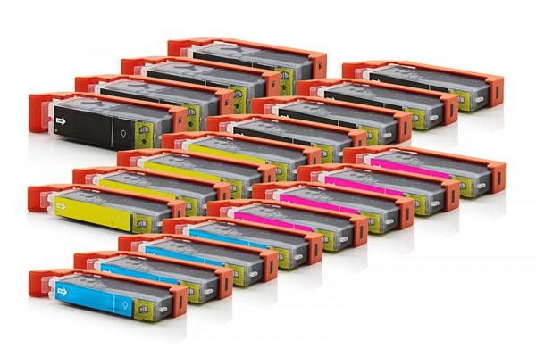 Kompatibel zu Canon PGI-550 XL / CLI-551 XL Tinten Multipack CMYK (20er Set)