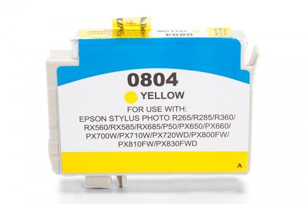 Kompatibel zu Epson T0804 / C13T08044010 Tinte Yellow