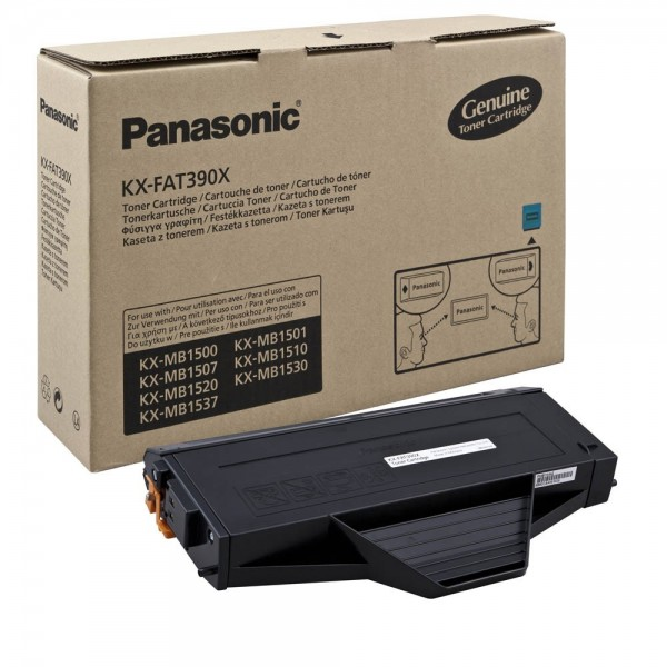Panasonic KX-FAT390X Toner Black