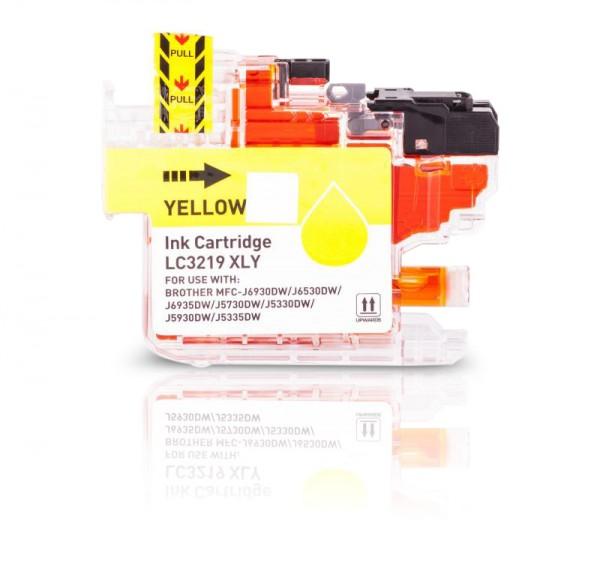 Kompatibel zu Brother LC-3219 Y Tinte Yellow XL