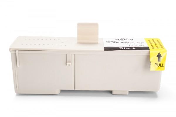 Kompatibel zu Epson C33S020407 / SJIC8 Tinte Black