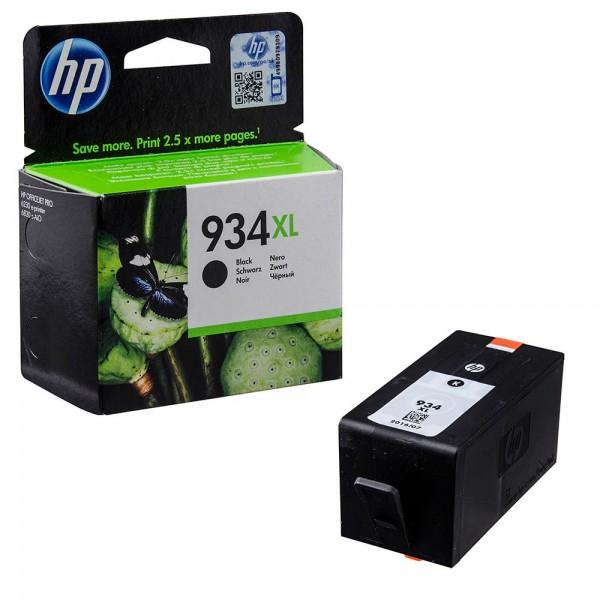 HP 934 XL / C2P23AE Tinte Black
