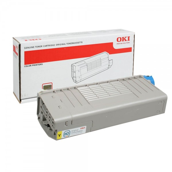OKI 44318605 Toner Yellow