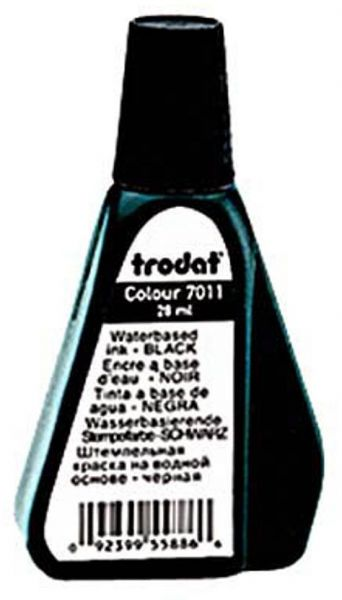 Trodat Stempelfarbe Schwarz 28,0 ml ohne Öl