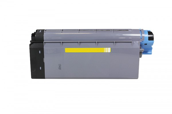 Kompatibel zu OKI 43866105 / C710 Toner Yellow