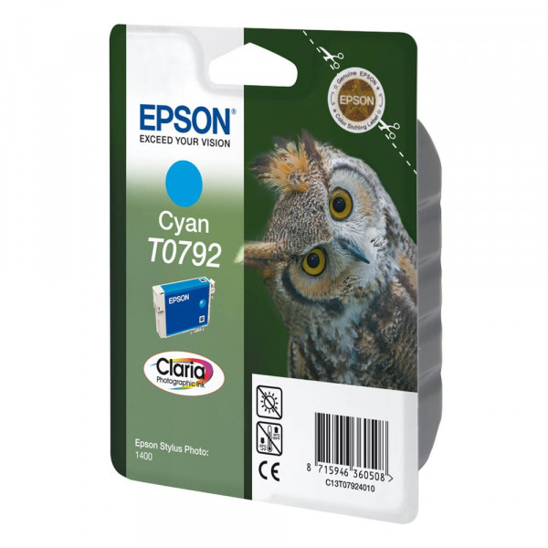 Epson T0792 / C13T07924010 Tinte Cyan