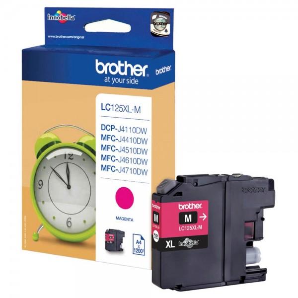 Brother LC-125 XL M Tinte Magenta