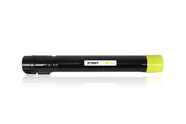 Kompatibel zu Xerox 106R01438 / Phaser 7500 Toner Yellow