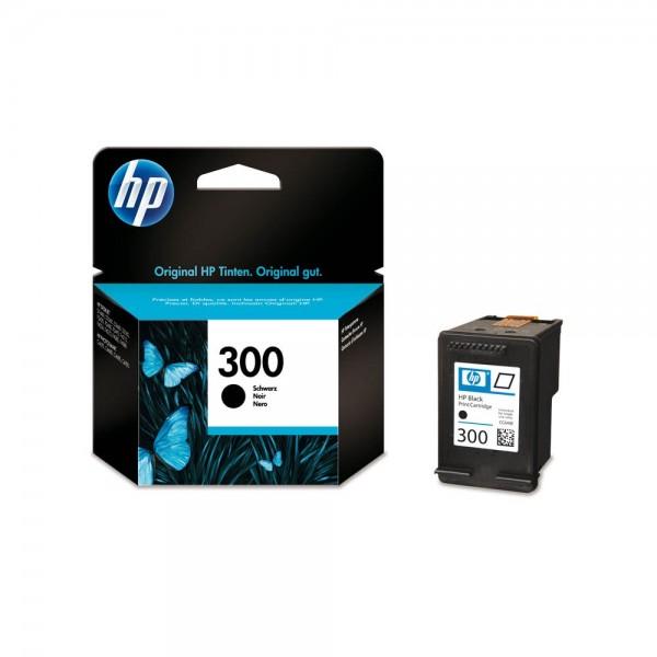 HP 300 / CC640EE Tinte Black