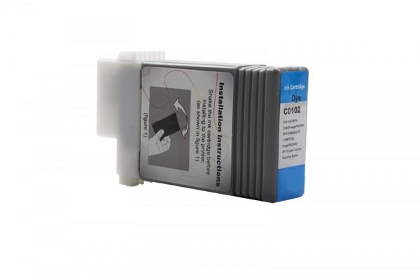 Kompatibel zu Canon 0896B001 / PFI-102C Tinte Cyan