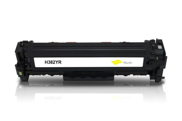 Alternativ zu HP CF382A / 312A Toner Yellow