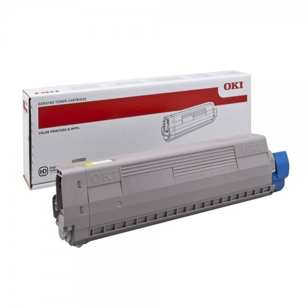 OKI 44844505 Toner Yellow