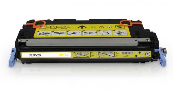 Kompatibel zu Canon CEXV26 / 1657B006 Toner Yellow