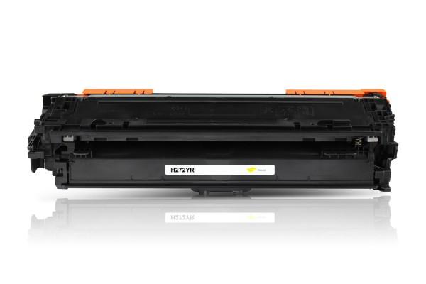 Kompatibel zu HP CE272A / 650A Toner Yellow