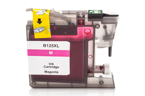 Kompatibel zu Brother LC-125XLM Tinte Magenta