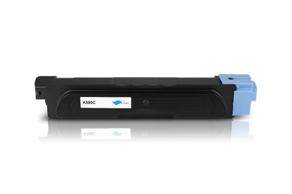 Kompatibel zu Kyocera TK-580C / 1T02KTCNL0 Toner Cyan