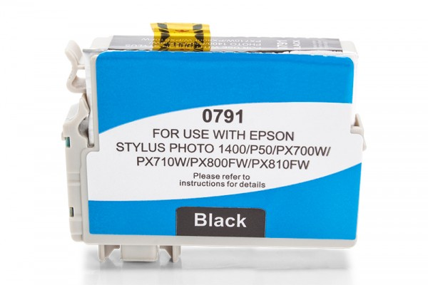 Kompatibel zu Epson T0791 / C13T07914010 Tinte Black