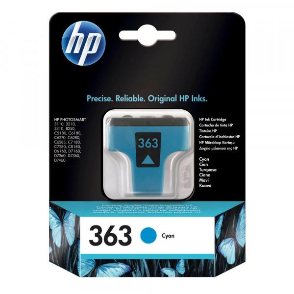 HP 363 / C8771EE Tinte Cyan