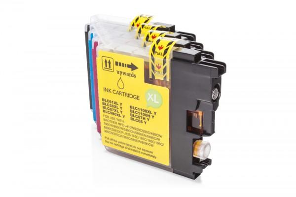 Kompatibel zu Brother LC-1100 Tinten Multipack CMYK (4er Set)