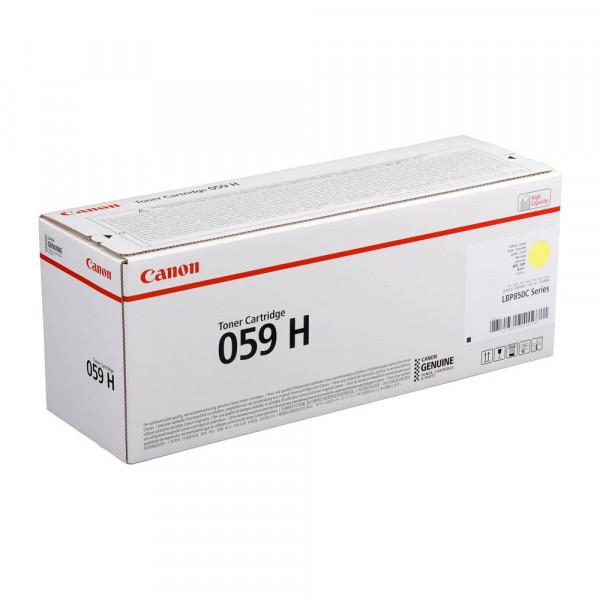 Canon 059H / 3624C001 Toner Yellow