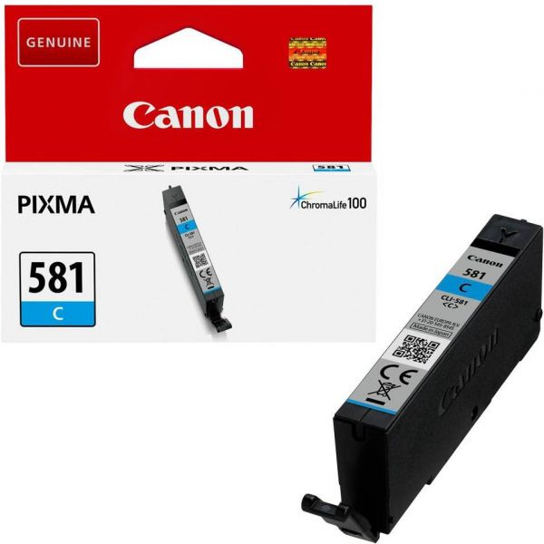 Canon CLI-581 / 2103C001 Tinte Cyan