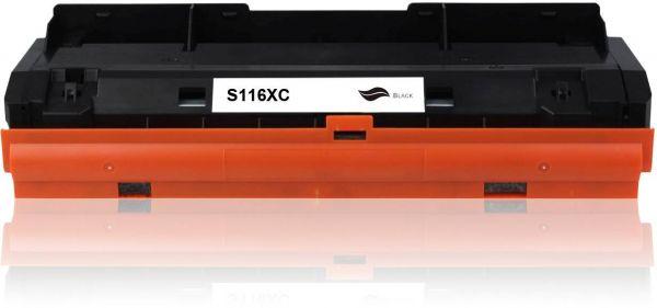 Frontalansicht des Samsung MLT-D116L kompatiblen Toners in Schwarz