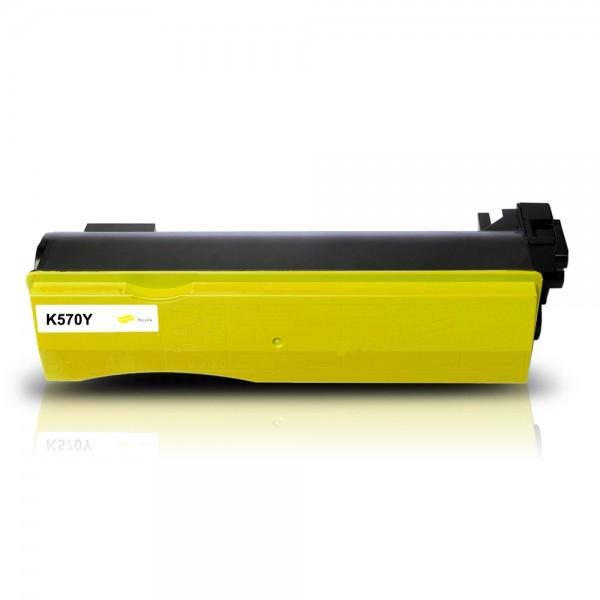 Kompatibel zu Kyocera TK-570Y / 1T02HGAEU0 Toner Yellow