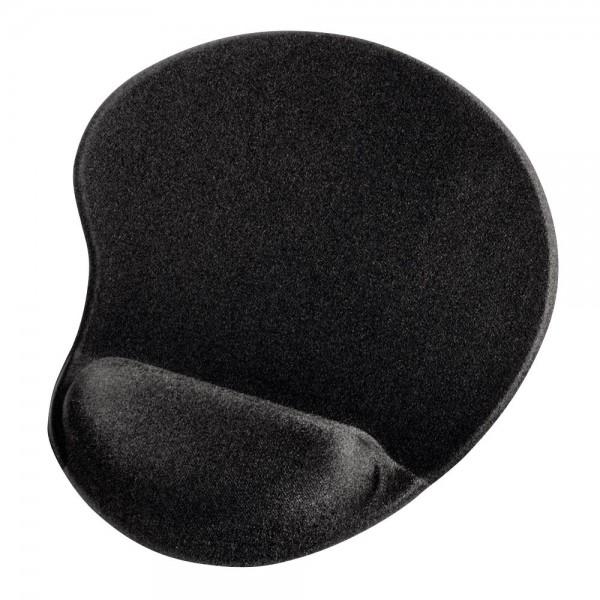 Hama Mousepad mit Handauflage Schwarz