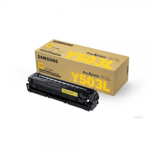 Samsung CLT-Y503L / SU491A Toner Yellow