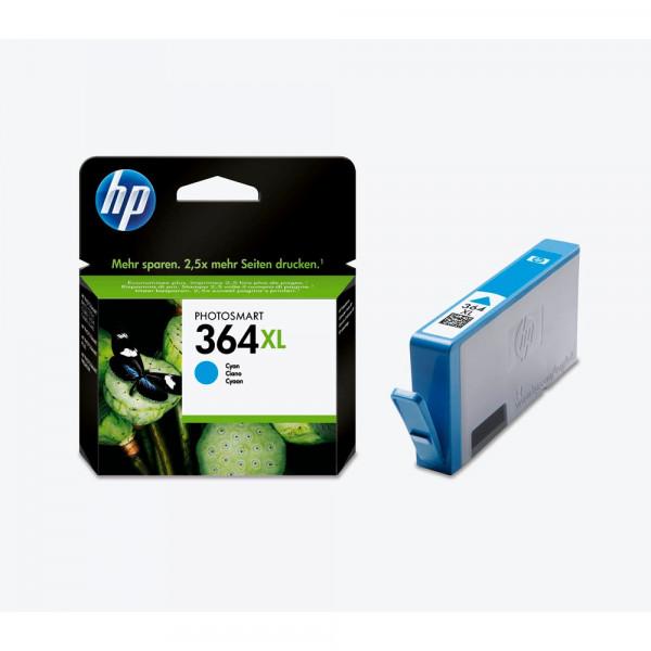 HP 364 XL / CB323EE Tinte Cyan