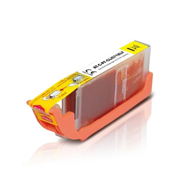 Kompatibel zu Canon CLI-571Y XL / 0334C001 Tinte Yellow