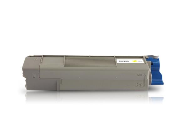 Kompatibel zu OKI 43872305 / C5650 / C5750 Toner Yellow