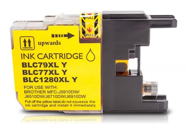 Kompatibel zu Brother LC-1280 XL Tinte Yellow