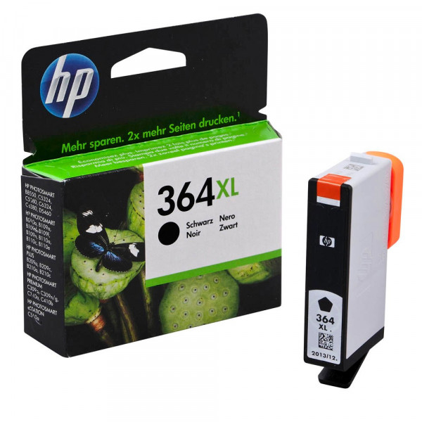 HP 364 XL / CN684EE Tinte Black