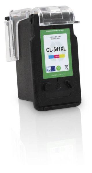 Frontalansicht der Canon CL-541 kompatiblen Farb-Druckerpatrone