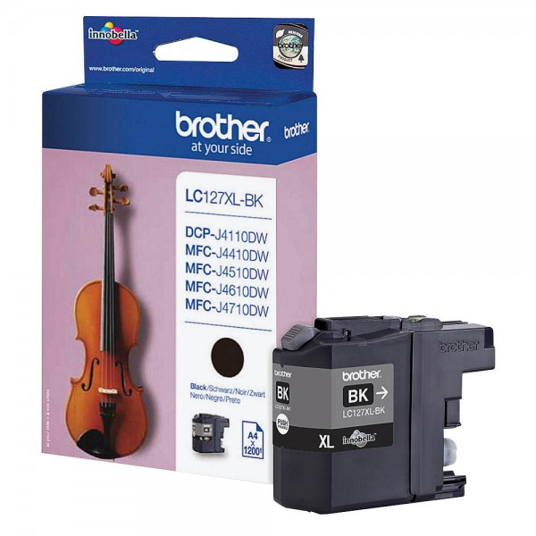 Brother LC-127 XL BK Tinte Black