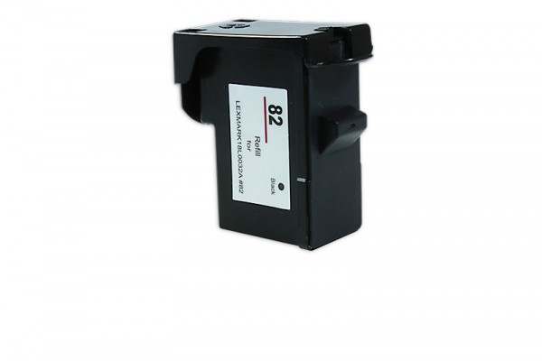Alternativ zu Lexmark 018L0032E / NO 82 Tinte Black