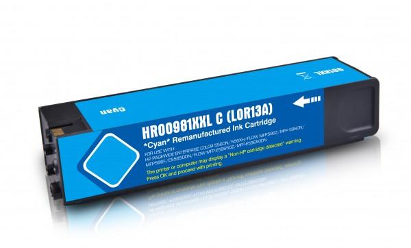 Kompatibel zu HP 981Y / L0R13A Tinte Cyan