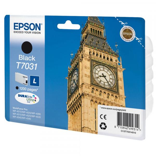 Epson T7031 / C13T70314010 Tinte Black