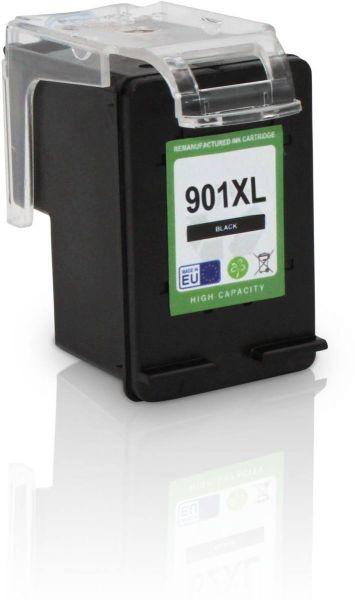 Schrägansicht von links der HP 901 XL kompatiblen Tintenpatrone