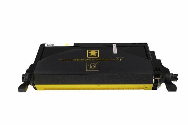 Rebuilt zu Samsung CLP-Y660B Toner Yellow