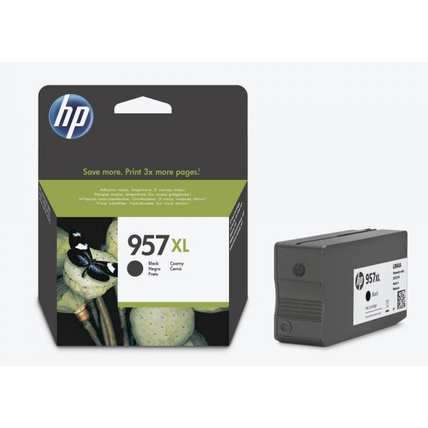 HP 957XL / L0R40AE Tinte Black