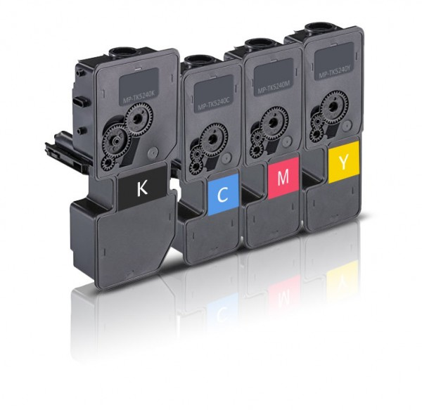 Alternativ zu Kyocera TK-5240 Toner Multipack (CMYK) 4er Pack