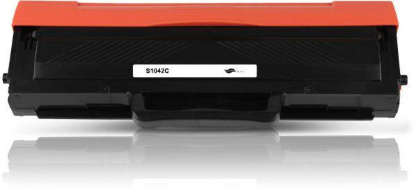 Frontalansicht des Samsung MLT-D1042S kompatiblen Toners in Schwarz